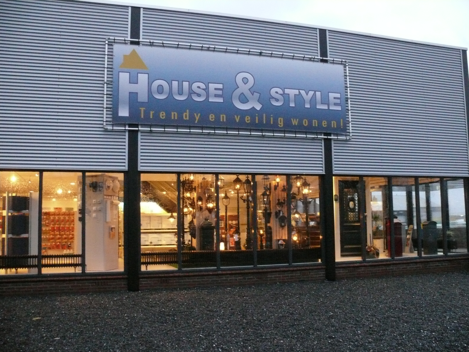 Beroemd HOUSE-STYLE.NL | Voor een veilige en stijlvolle leefomgeving. KH96