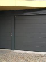 Sect. deur met losse loopdeur